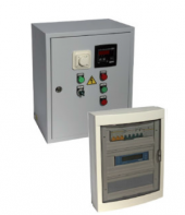 Щиты управления приточной установкой с водяным калорифером типа ЩУВВК