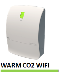 Включает 3 фильтра, управление по wifi, автоматический обогрев воздуха и контроля уровня СО2, полный набор функций и управление по wifi.