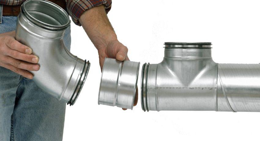 воздуховоды для вентиляции круглые